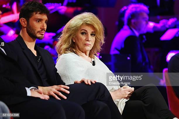 Iva Zanicchi attends the 'Maurizio Costanzo Show' at Studios De Paolis on May 12 2016 in Rome