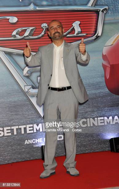 Ivan Capelli attends a photocall for Cars 3 on July 12 2017 in Rome Italy