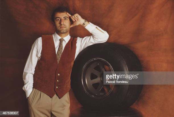 Ivan Capelli of Italy and driver of the Leyton House Formula One Racing Team Leyton House CG901 Judd on 16th May 1990 at the Allsport studio in...