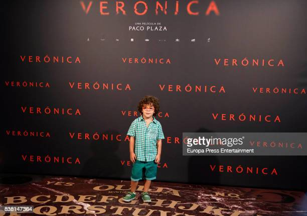 Ivan Chavero attends 'Veronica' photocall on August 23 2017 in Madrid Spain