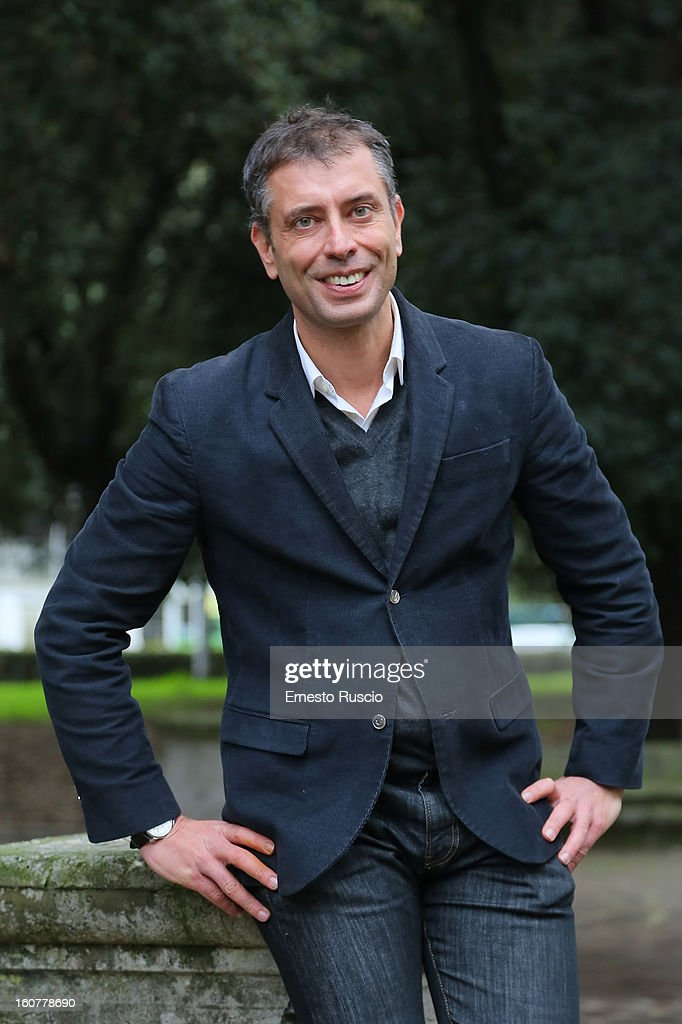 Ivan Cotroneo attends the 'Una Mamma Imperfetta' photocall at Tree Bar on February 5, 2013 in Rome, Italy.