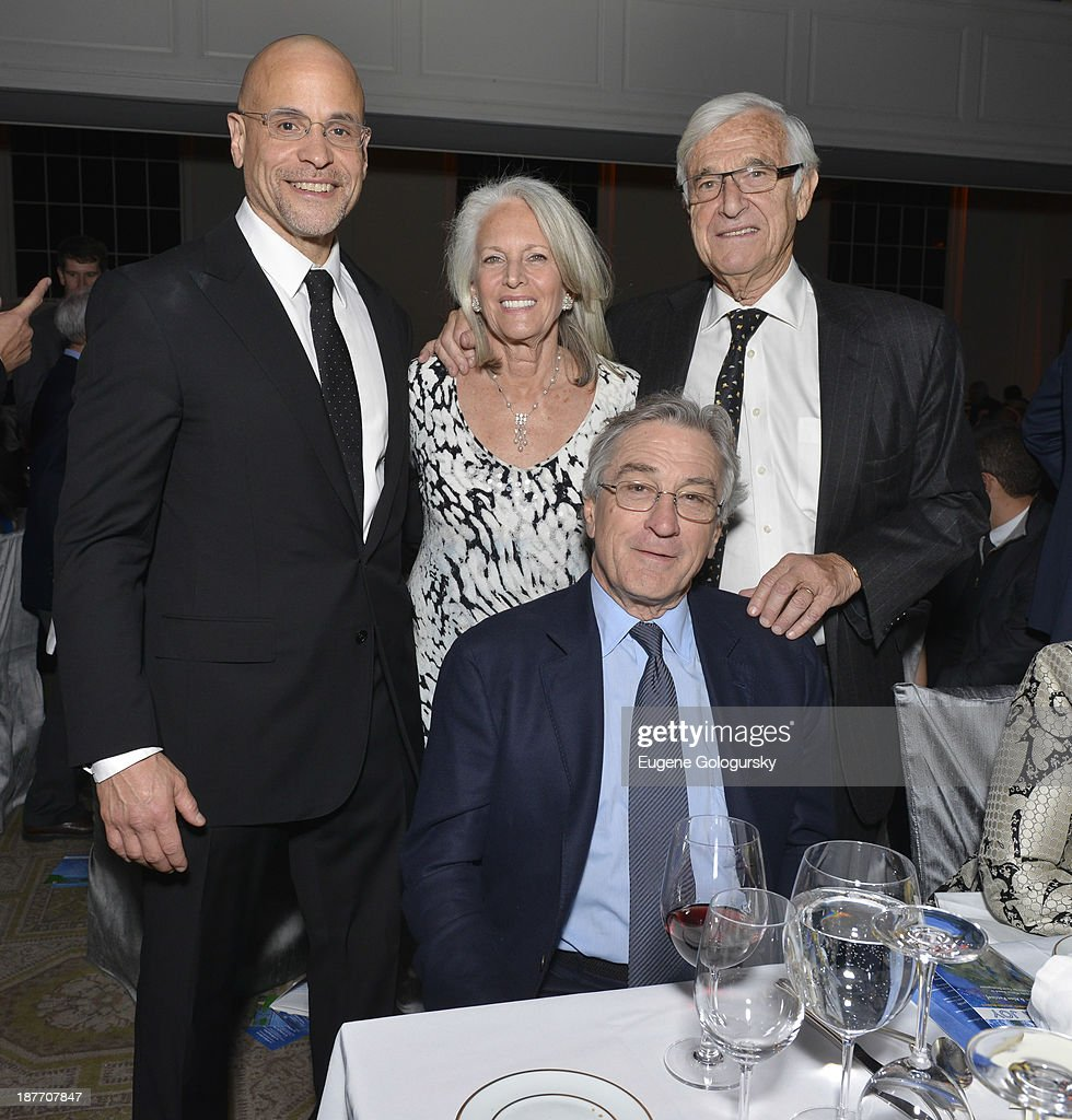 Ivan Hageman, Susan Patricof, Alan Patricof and Robert DeNiro attend the The East Harlem School 2013 Fall Benefit Honoring Susan And Alan Patricof on November 11, 2013 in New York City.
