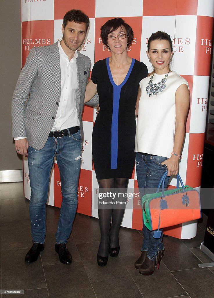 <a gi-track='captionPersonalityLinkClicked' href=/galleries/search?phrase=Ivan+Helguera&family=editorial&specificpeople=213396 ng-click='$event.stopPropagation()'>Ivan Helguera</a>, Lola Gonzalez and Lorena Casado attend 'iDance' opening photocall at Holmes Palace on March 21, 2014 in Madrid, Spain.