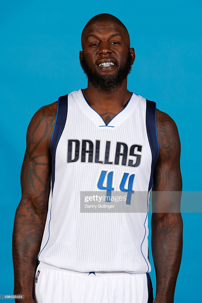 Ivan Johnson of the Dallas Mavericks poses for a photo during the Dallas Mavericks 20142015 Media Day on September 29 2014 at the American Airlines...