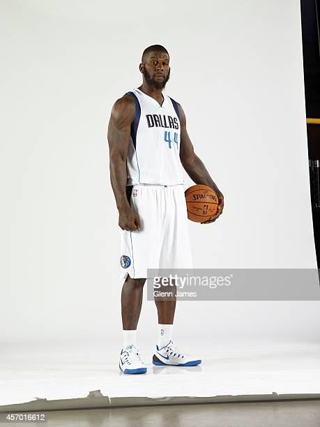 Ivan Johnson of the Dallas Mavericks poses for a photo during the Dallas Mavericks 20142015 Media Day on October 8 2014 at the American Airlines...