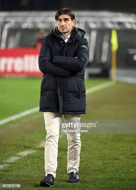 Ivan Juric head coach of Genoa CFC looks during the Serie A match between AC ChievoVerona and Genoa CFC at Stadio Marc'Antonio Bentegodi on December...