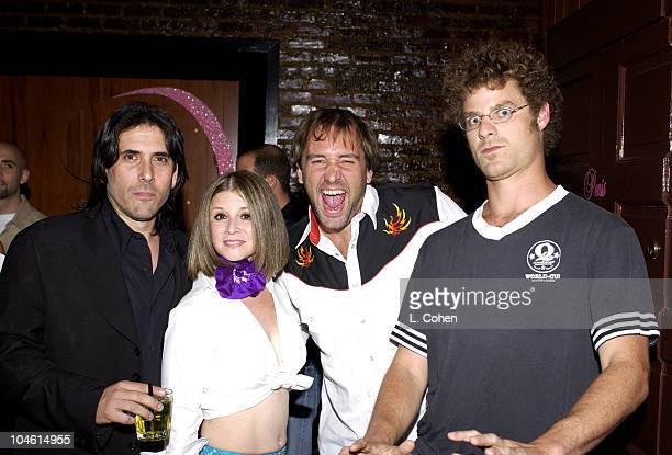 Ivan Kane Suzy Kane Trey Parker and Matt Stone during 'Deep' Owner Ivan Kane Introduces Newest Nightspot 'Forty Deuce' at Forty Deuce in Los Angeles...