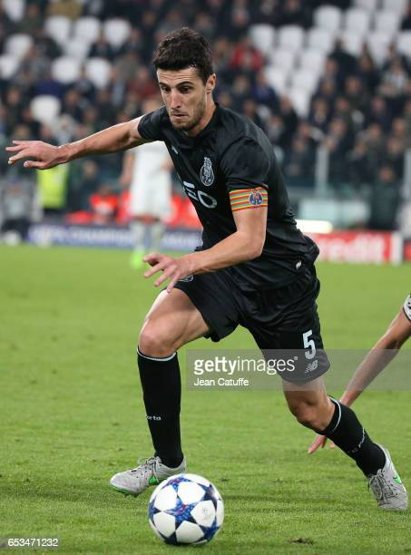 Ivan Marcano of FC Porto in action during the UEFA Champions League Round of 16 second leg match between Juventus Turin and FC Porto at Juventus...