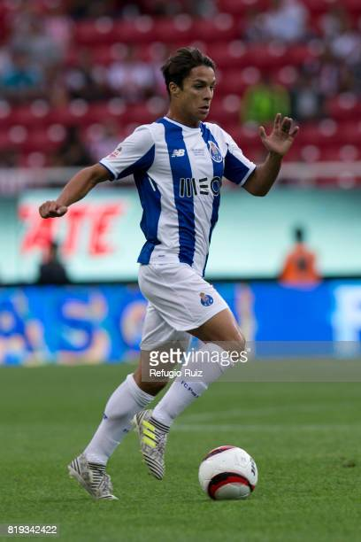 Ivan Marcano of Porto drives the ball during the friendly match between Chivas and Porto at Chivas Stadium on July 19 2017 in Zapopan Mexico