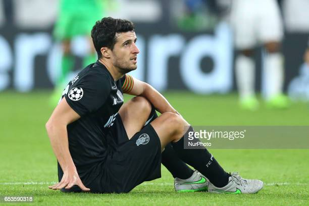Ivan Marcano of Porto during the UEFA Champions League Round of 16 second leg match between Juventus and FC Porto at Juventus Stadium on March 14...
