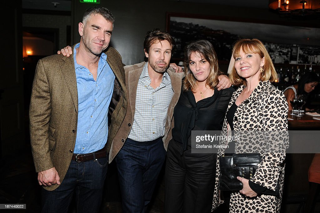 Ivan Massow, Scott Lyon Wall, <a gi-track='captionPersonalityLinkClicked' href=/galleries/search?phrase=Tracey+Emin&family=editorial&specificpeople=203219 ng-click='$event.stopPropagation()'>Tracey Emin</a> and Susan Michals attend The 'Last Supper' Discussion hosted By Stephen Webster At Soho House at Soho House on November 8, 2013 in West Hollywood, California.
