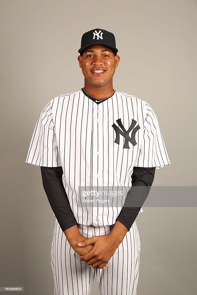 Ivan Nova #47 of the New York Yankees poses during Photo Day on February 20, 2013 at George M. Steinbrenner Field in Tampa, Florida.