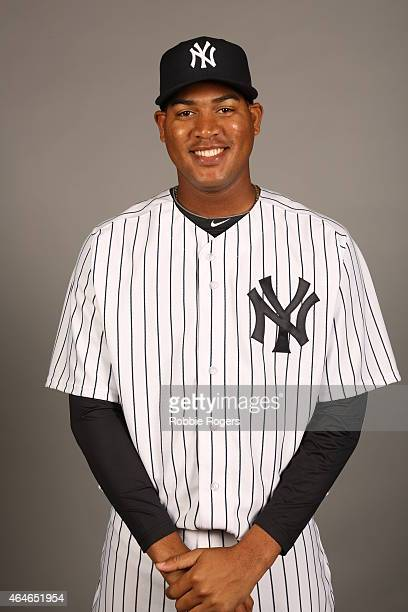 Ivan Nova of the New York Yankees poses during Photo Day on Friday February 27 2015 at George M Steinbrenner Field in Tampa Florida