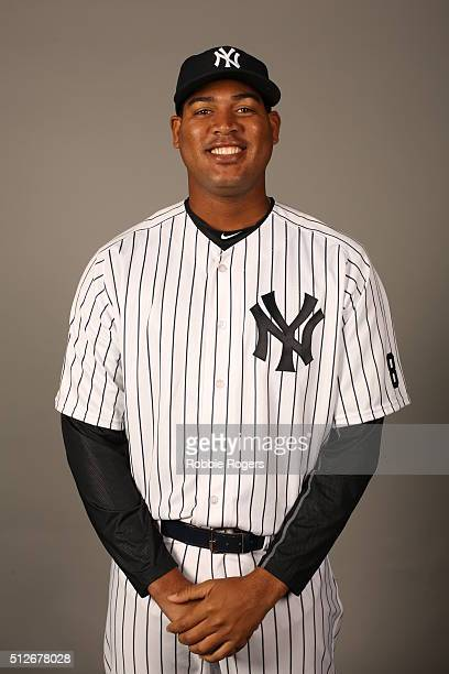 Ivan Nova of the New York Yankees poses during Photo Day on Saturday February 27 2016 at George M Steinbrenner Field in Tampa Florida