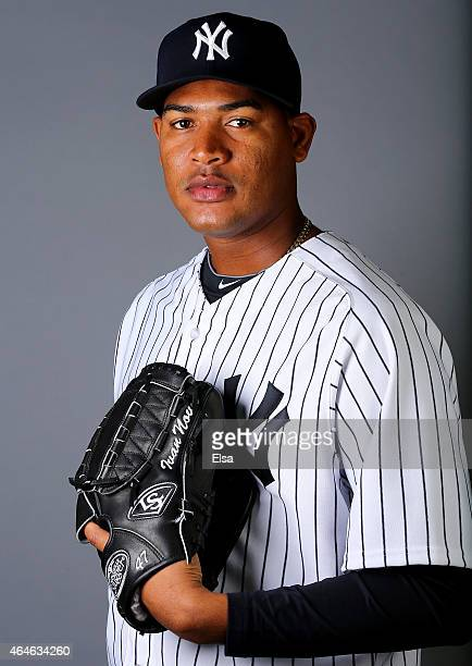 Ivan Nova of the New York Yankees poses for a portrait on February 27 2015 at George M Steinbrenner Stadium in TampaFlorida