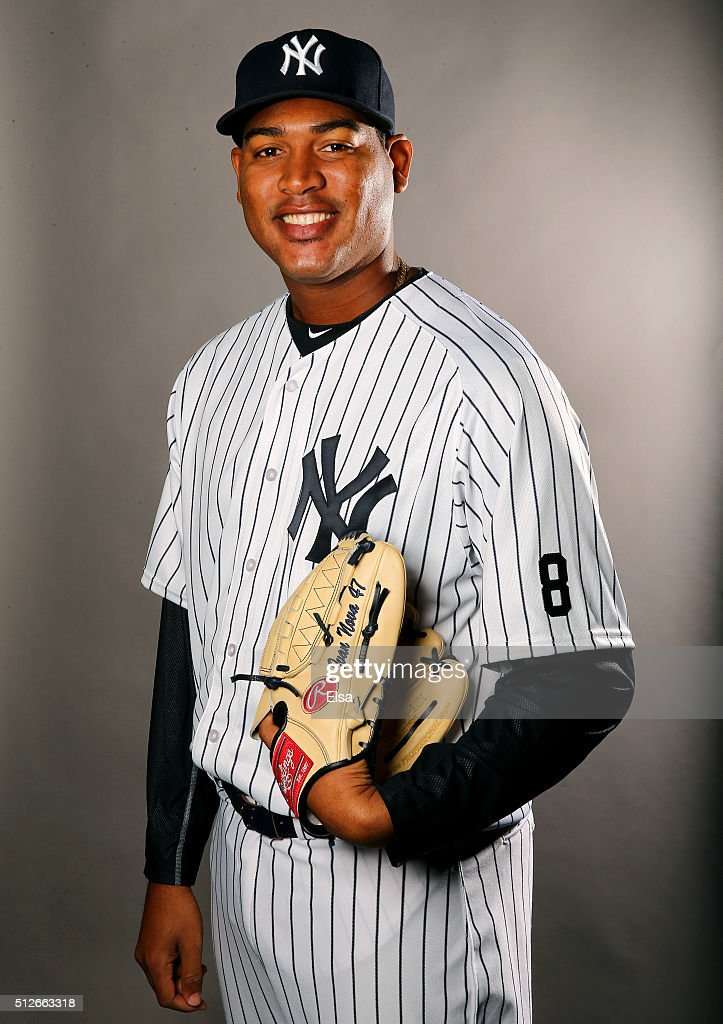 <a gi-track='captionPersonalityLinkClicked' href=/galleries/search?phrase=Ivan+Nova&family=editorial&specificpeople=5743486 ng-click='$event.stopPropagation()'>Ivan Nova</a> #47 of the New York Yankees poses for a portrait on February 27, 2016 at George M Steinbrenner Stadium in Tampa, Florida.