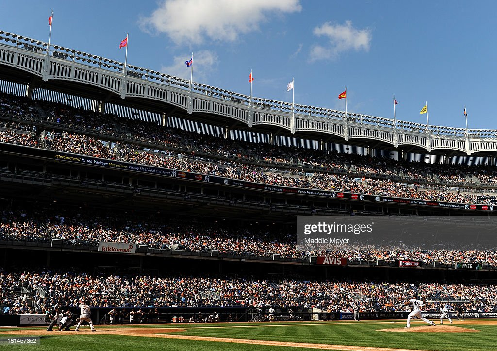 <a gi-track='captionPersonalityLinkClicked' href=/galleries/search?phrase=Ivan+Nova&family=editorial&specificpeople=5743486 ng-click='$event.stopPropagation()'>Ivan Nova</a> #47 of the New York Yankees throws a pitch during the sixth inning against the San Francisco Giants during interleague play on September 21, 2013 at Yankee Stadium in the Bronx borough of New York City.