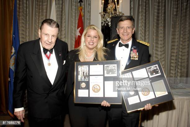 Ivan Obolensky Rita Cosby and General William J Troy attend Soldiers' Sailors' Marines' Coast Guard and Airmen's Club 14th Annual Military Ball at...