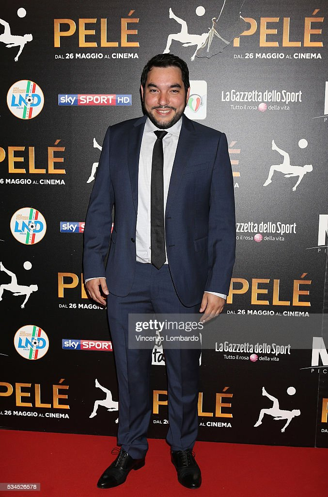 Ivan Orlic attends the 'Pele' Red Carpet In Milan on May 26, 2016 in Milan, Italy.