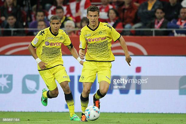 Ivan PERISIC Borussia Dortmund und Mohamed ZIDAN Borussia Dortmund Borussia Dortmund Bundesliga 2011 / 2012 Vorbereitung Liga Total Cup 2011