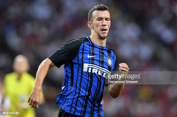 Ivan Perisic of FC Interernazionale runs during the International Champions Cup match between FC Bayern Munich and FC Internazionale at National...