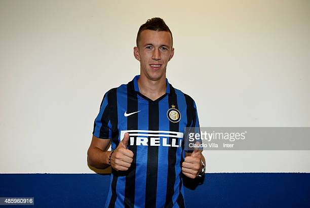 Ivan Perisic of FC Internazionale attends the Serie A match between Carpi FC and FC Internazionale Milano at Alberto Braglia Stadium on August 30...