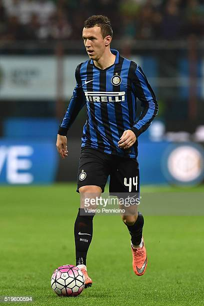 Ivan Perisic of FC Internazionale Milano in action during the Serie A match between FC Internazionale and Torino FC Milano at Stadio Giuseppe Meazza...