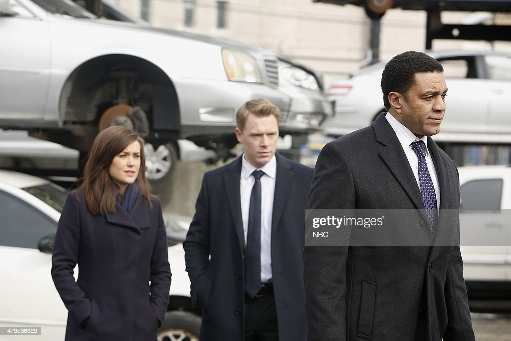 THE BLACKLIST 'Ivan' Pictured Megan Boone as Elizabeth Keen Diego Klattenhoff as Donald Ressler Harry Lennix as Harold Cooper