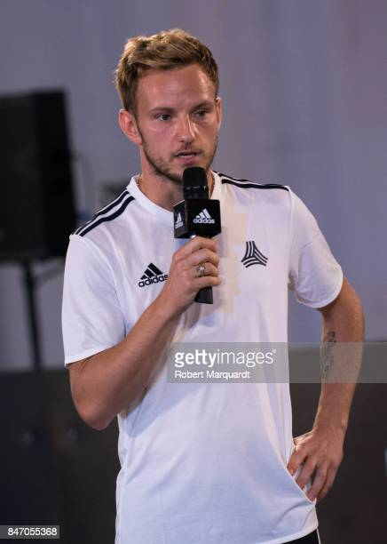 Ivan Rakitic attends an Adidas presentation held at the Italian Pavilion on September 14 2017 in Barcelona Spain