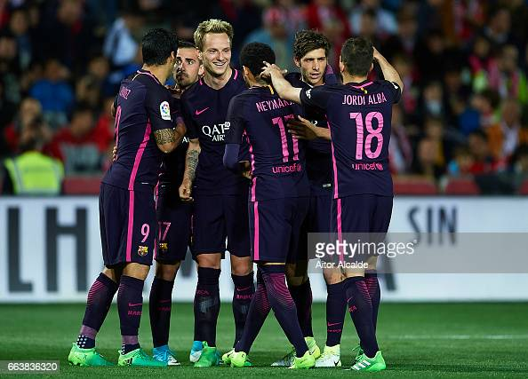 Granada CF v FC Barcelona - La Liga : News Photo