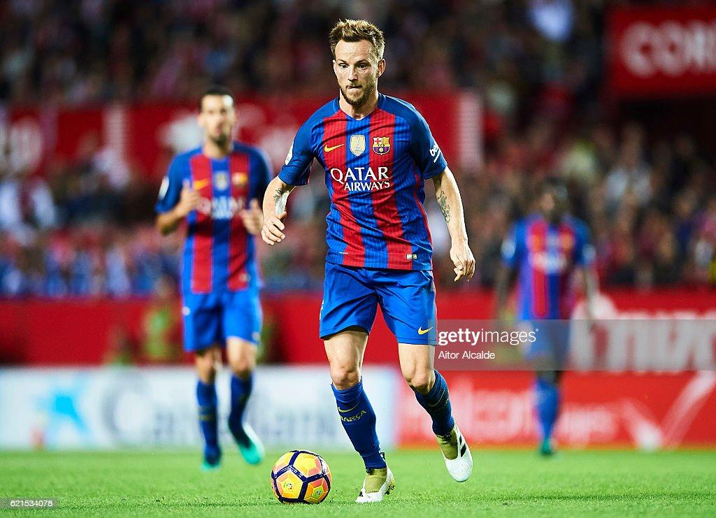 Sevilla FC v FC Barcelona - La Liga : News Photo