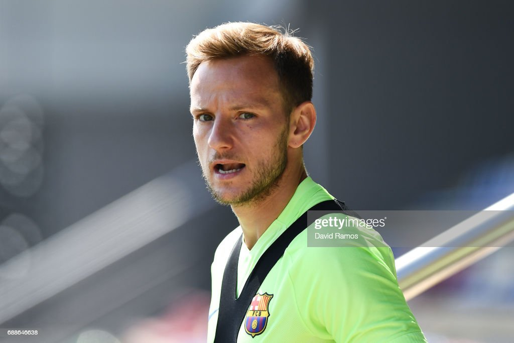 FC Barcelona - Training & Press Conference : News Photo