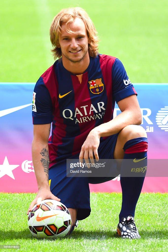 FC Barcelona Unveil Ivan Rakitic