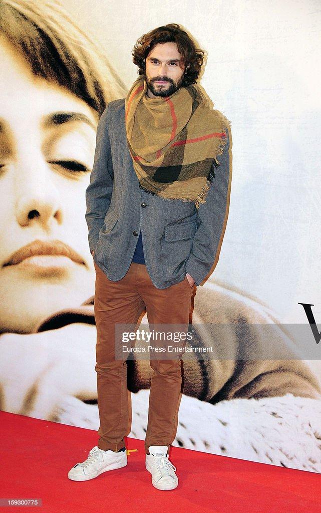 Ivan Sanchez attends 'Venuto Al Mondo' premierte at Capitol Cinema on January 10, 2013 in Madrid, Spain.