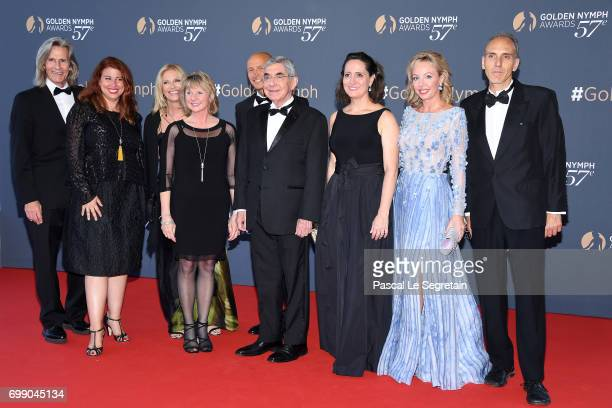 Ivan Suvanjieff Dawn Eagle Oscar Arias Nobel Peace Prize Winner Oscar Arias Camilla of the Bourbon of the two Sicilies attend the closing ceremony of...