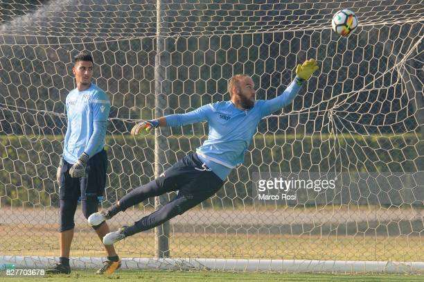 Ivan Vargic during the SS Lazio Training Session on August 8 2017 in Rome Italy