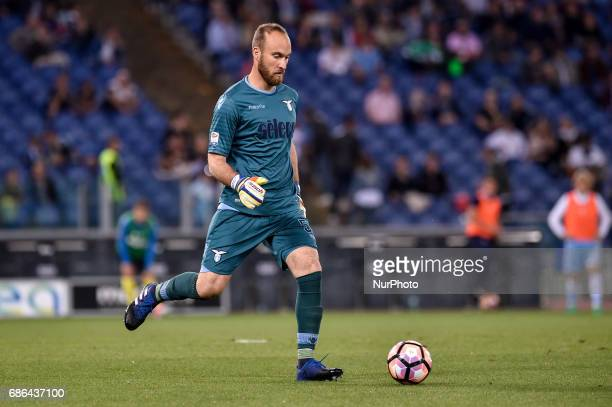 Ivan Vargic of Lazio during the Serie A match between Lazio v Internazionale on May 21 2017 in Rome Italy