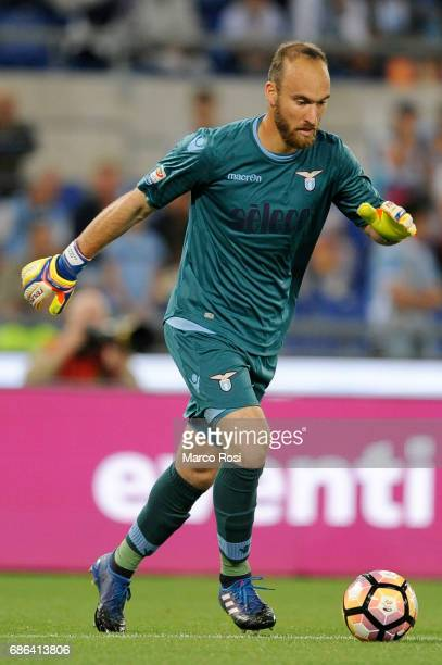Ivan Vargic of SS Lazio during the Serie A match between SS Lazio and FC Internazionale at Stadio Olimpico on May 21 2017 in Rome Italy