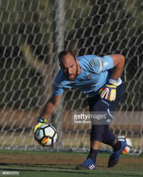 Ivan Vargic of SS Lazio in action during the SS Lazio training session on July 5 2017 in Rome Italy