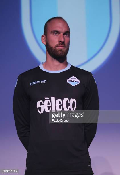 Ivan Vargic of SS Lazio poses during the SS Lazio unveiling new kit at Spazio Novecento on July 6 2017 in Rome Italy