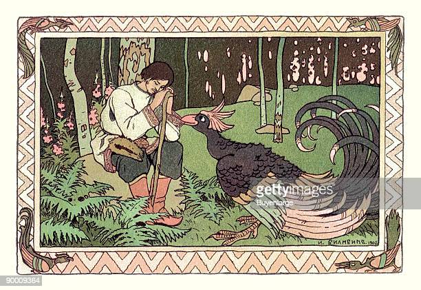 Ivan Yakovlevich Bilibin was a Russian 20thcentury illustrator He was strongly inspired by Slavic folklore and worked a lot in theater with set...