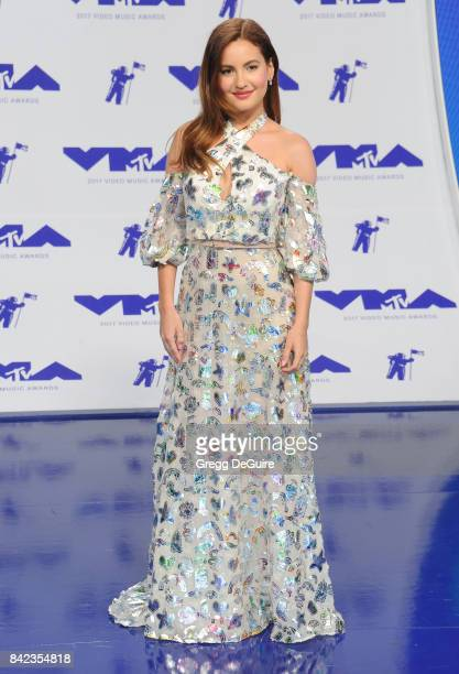 Ivana Baquero arrives at the 2017 MTV Video Music Awards at The Forum on August 27 2017 in Inglewood California