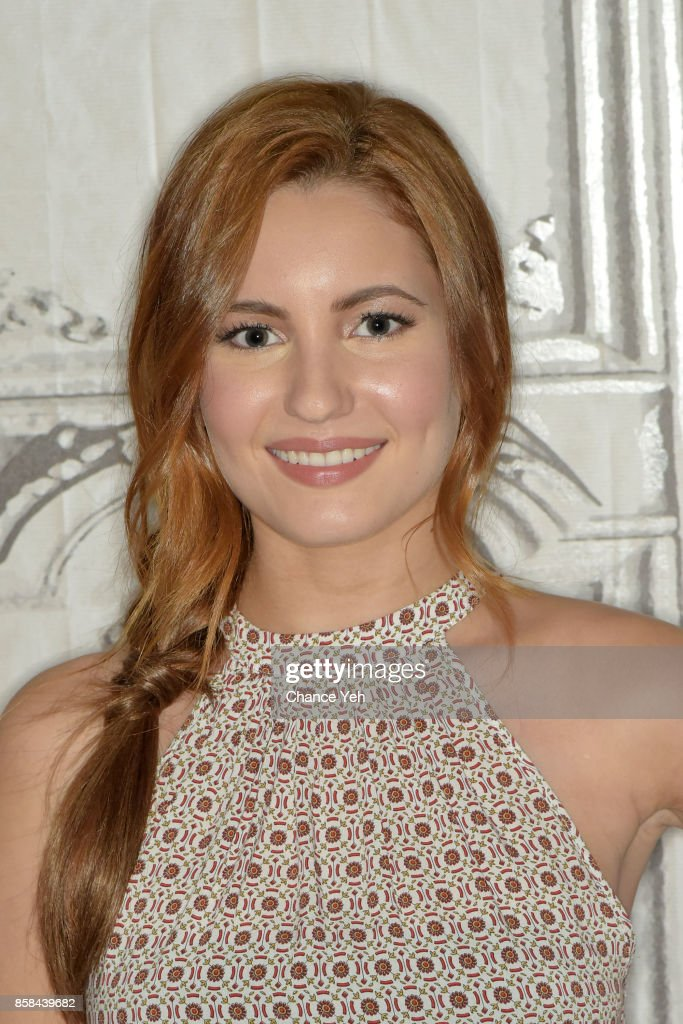 Ivana Baquero attends Build series to discuss 'The Shannara Chronicles' at Build Studio on October 6, 2017 in New York City.