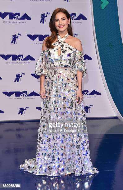 Ivana Baquero attends the 2017 MTV Video Music Awards at The Forum on August 27 2017 in Inglewood California