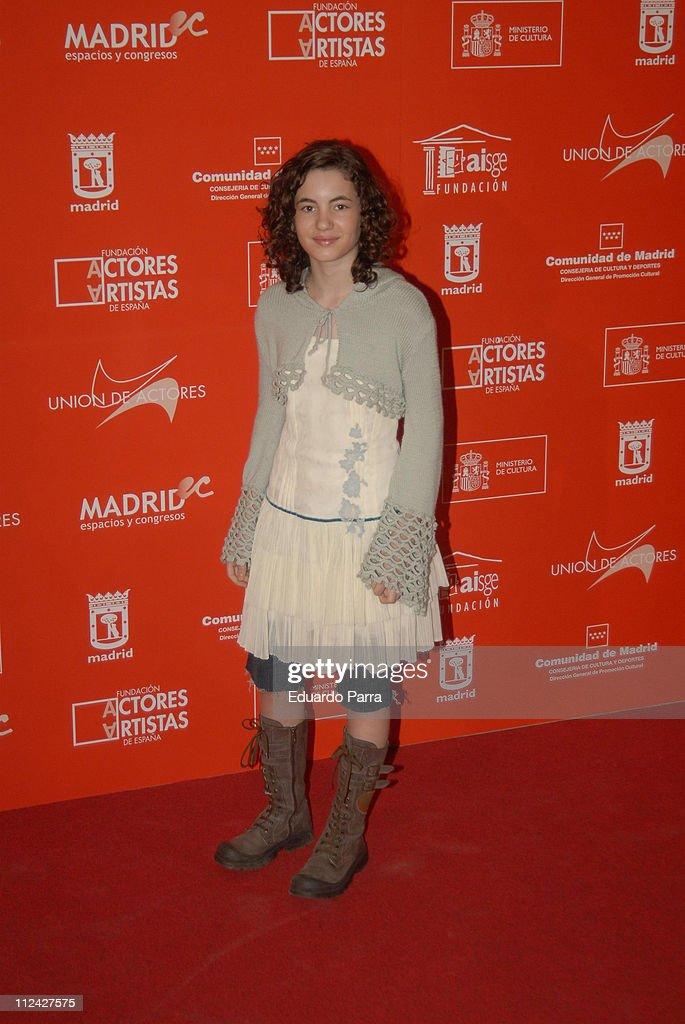 Actors Union Awards, Madrid - February 12, 2007