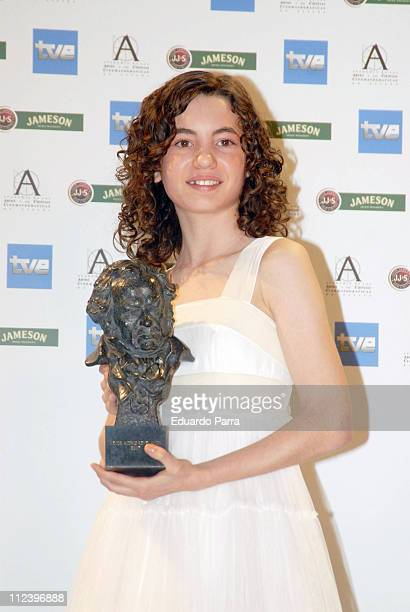 Ivana Baquero winner of the Revelation Actress Award