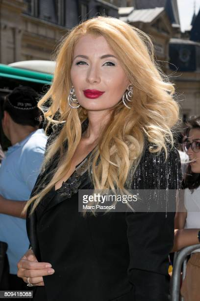 Ivana Ilic Labia attends the Jean Paul Gaultier Haute Couture Fall/Winter 20172018 show as part of Paris Fashion Week on July 5 2017 in Paris France