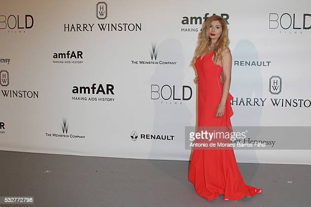 Ivana IlicLabia attends the amfAR's 23rd Cinema Against AIDS Gala at Hotel du CapEdenRoc on May 19 2016 in Cap d'Antibes France