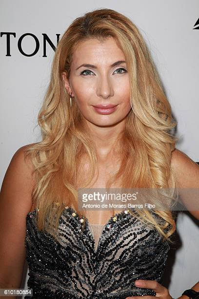 Ivana IlicLabia walks the red carpet of amfAR Milano 2016 at La Permanente on September 24 2016 in Milan Italy
