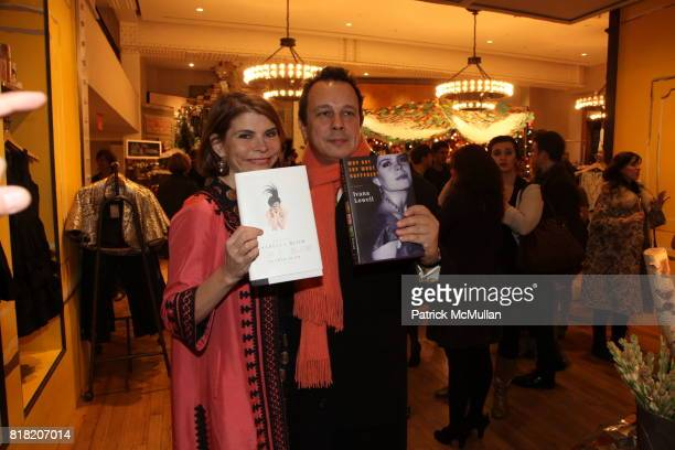 Ivana Lowell and Detmar Blow attend Anthropologie Hosts US Book Launch of BLOW BY BLOW at Anthropologie at Rockefeller Center on November 3 2010 in...